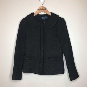 Boden Parisienne Jacket Black - Size 8